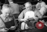 Image of war production workers at Douglas Aircraft Long Beach California USA, 1942, second 34 stock footage video 65675052406