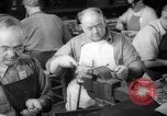 Image of war production workers at Douglas Aircraft Long Beach California USA, 1942, second 35 stock footage video 65675052406