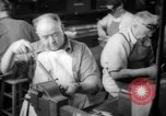 Image of war production workers at Douglas Aircraft Long Beach California USA, 1942, second 37 stock footage video 65675052406