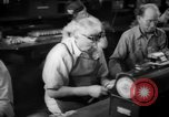 Image of war production workers at Douglas Aircraft Long Beach California USA, 1942, second 40 stock footage video 65675052406