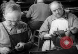 Image of war production workers at Douglas Aircraft Long Beach California USA, 1942, second 42 stock footage video 65675052406