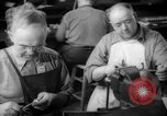 Image of war production workers at Douglas Aircraft Long Beach California USA, 1942, second 43 stock footage video 65675052406