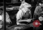 Image of war production workers at Douglas Aircraft Long Beach California USA, 1942, second 47 stock footage video 65675052406