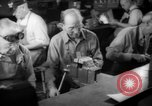 Image of war production workers at Douglas Aircraft Long Beach California USA, 1942, second 50 stock footage video 65675052406