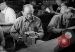 Image of war production workers at Douglas Aircraft Long Beach California USA, 1942, second 51 stock footage video 65675052406