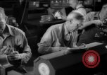 Image of war production workers at Douglas Aircraft Long Beach California USA, 1942, second 53 stock footage video 65675052406