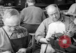 Image of war production workers at Douglas Aircraft Long Beach California USA, 1942, second 62 stock footage video 65675052406