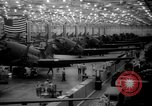 Image of A-20 fighter-bomber plane Long Beach California USA, 1942, second 4 stock footage video 65675052410