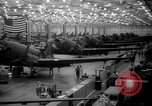 Image of A-20 fighter-bomber plane Long Beach California USA, 1942, second 10 stock footage video 65675052410