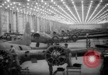 Image of A-20 fighter-bomber plane Long Beach California USA, 1942, second 51 stock footage video 65675052410