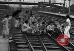 Image of demonstrating students Shanghai China, 1931, second 58 stock footage video 65675052434