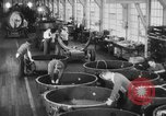 Image of War ship parts production at General Electric Plants United States USA, 1941, second 15 stock footage video 65675052443