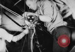 Image of War ship parts production at General Electric Plants United States USA, 1941, second 17 stock footage video 65675052443