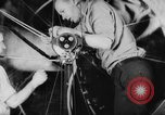 Image of War ship parts production at General Electric Plants United States USA, 1941, second 18 stock footage video 65675052443