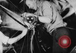 Image of War ship parts production at General Electric Plants United States USA, 1941, second 19 stock footage video 65675052443