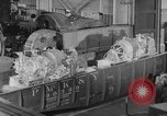 Image of War ship parts production at General Electric Plants United States USA, 1941, second 33 stock footage video 65675052443