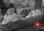 Image of War ship parts production at General Electric Plants United States USA, 1941, second 37 stock footage video 65675052443