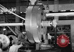 Image of War ship parts production at General Electric Plants United States USA, 1941, second 40 stock footage video 65675052443