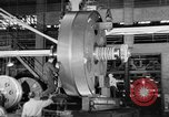 Image of War ship parts production at General Electric Plants United States USA, 1941, second 42 stock footage video 65675052443