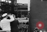 Image of War ship parts production at General Electric Plants United States USA, 1941, second 59 stock footage video 65675052443