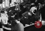 Image of Electricity production and factory production during World War 2 United States USA, 1941, second 22 stock footage video 65675052444