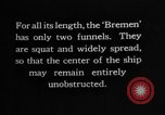 Image of Bremen Ship Germany, 1929, second 37 stock footage video 65675052446