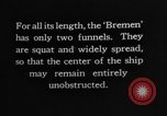 Image of Bremen Ship Germany, 1929, second 40 stock footage video 65675052446
