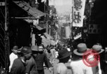 Image of Chinese District Hong Kong, 1938, second 2 stock footage video 65675052464