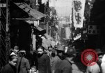 Image of Chinese District Hong Kong, 1938, second 3 stock footage video 65675052464