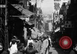 Image of Chinese District Hong Kong, 1938, second 6 stock footage video 65675052464