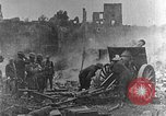 Image of British infantry soldiers firing artillery World War 1 Europe, 1916, second 3 stock footage video 65675052474