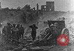 Image of British infantry soldiers firing artillery World War 1 Europe, 1916, second 4 stock footage video 65675052474
