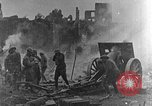 Image of British infantry soldiers firing artillery World War 1 Europe, 1916, second 5 stock footage video 65675052474