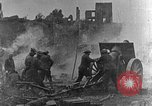 Image of British infantry soldiers firing artillery World War 1 Europe, 1916, second 6 stock footage video 65675052474