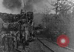 Image of British infantry soldiers firing artillery World War 1 Europe, 1916, second 10 stock footage video 65675052474
