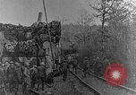 Image of British infantry soldiers firing artillery World War 1 Europe, 1916, second 12 stock footage video 65675052474