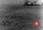 Image of British infantry soldiers firing artillery World War 1 Europe, 1916, second 19 stock footage video 65675052474