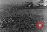 Image of British infantry soldiers firing artillery World War 1 Europe, 1916, second 20 stock footage video 65675052474