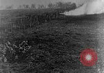 Image of British infantry soldiers firing artillery World War 1 Europe, 1916, second 21 stock footage video 65675052474
