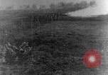 Image of British infantry soldiers firing artillery World War 1 Europe, 1916, second 22 stock footage video 65675052474