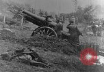 Image of British infantry soldiers firing artillery World War 1 Europe, 1916, second 23 stock footage video 65675052474