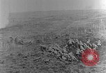 Image of British infantry soldiers firing artillery World War 1 Europe, 1916, second 24 stock footage video 65675052474