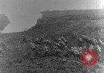 Image of British infantry soldiers firing artillery World War 1 Europe, 1916, second 26 stock footage video 65675052474