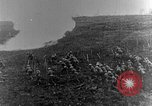 Image of British infantry soldiers firing artillery World War 1 Europe, 1916, second 27 stock footage video 65675052474