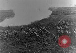 Image of British infantry soldiers firing artillery World War 1 Europe, 1916, second 29 stock footage video 65675052474