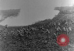 Image of British infantry soldiers firing artillery World War 1 Europe, 1916, second 30 stock footage video 65675052474