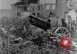 Image of British infantry soldiers firing artillery World War 1 Europe, 1916, second 43 stock footage video 65675052474