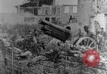 Image of British infantry soldiers firing artillery World War 1 Europe, 1916, second 46 stock footage video 65675052474