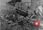 Image of British infantry soldiers firing artillery World War 1 Europe, 1916, second 47 stock footage video 65675052474