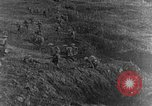 Image of British infantry soldiers firing artillery World War 1 Europe, 1916, second 52 stock footage video 65675052474
